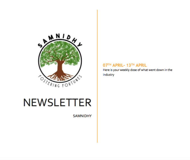 samnidhy Newsletter 5