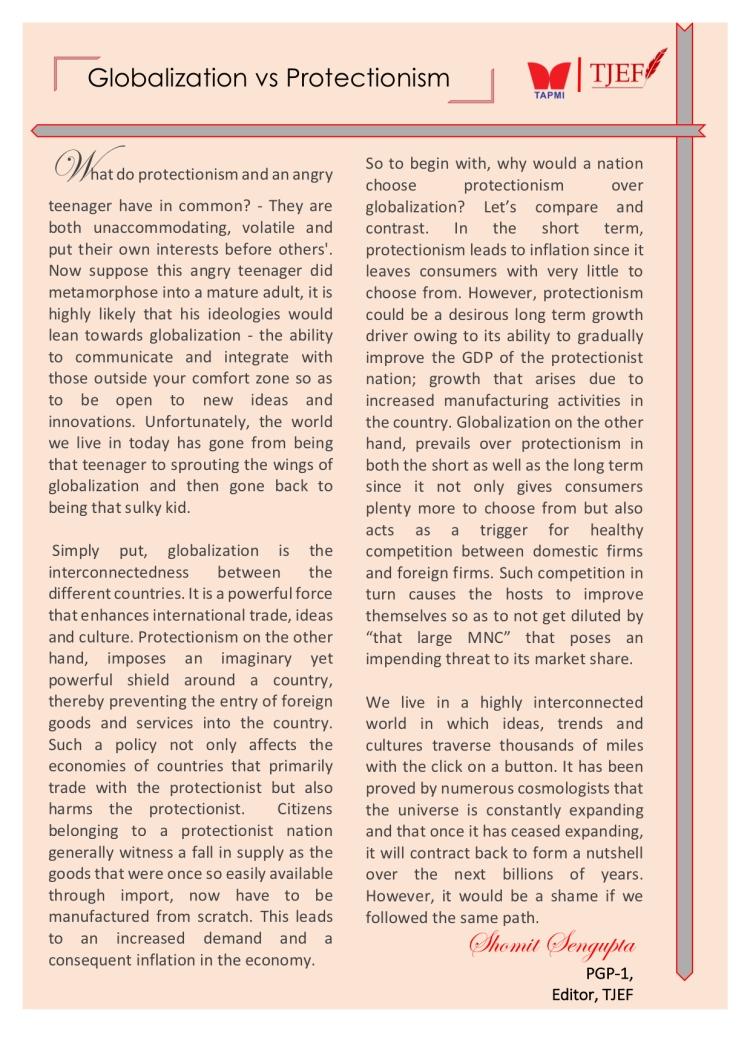Editor's article GvP Shomit