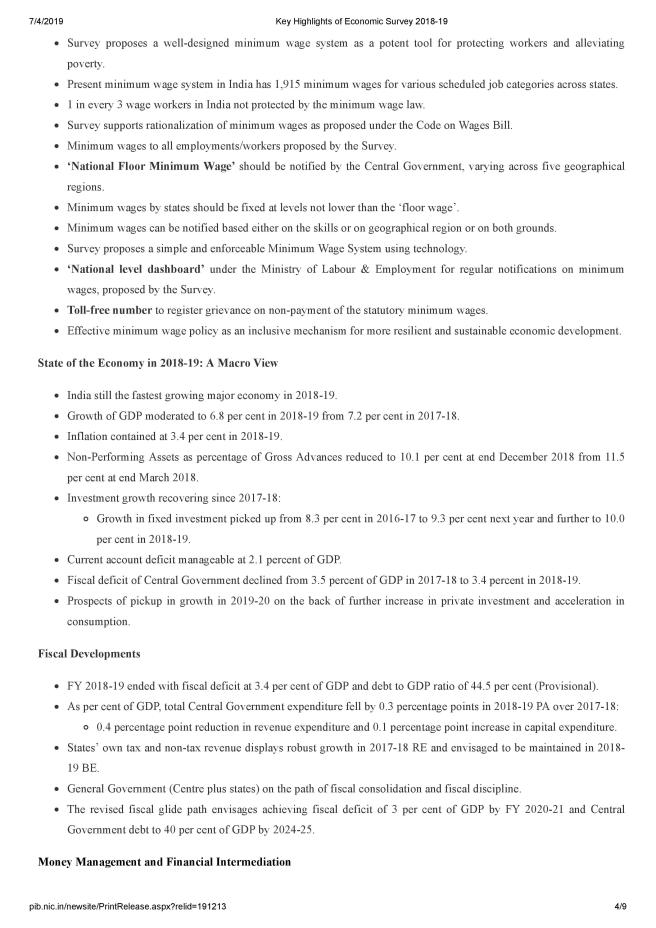 Key Highlights of Economic Survey 2018-19-page-004