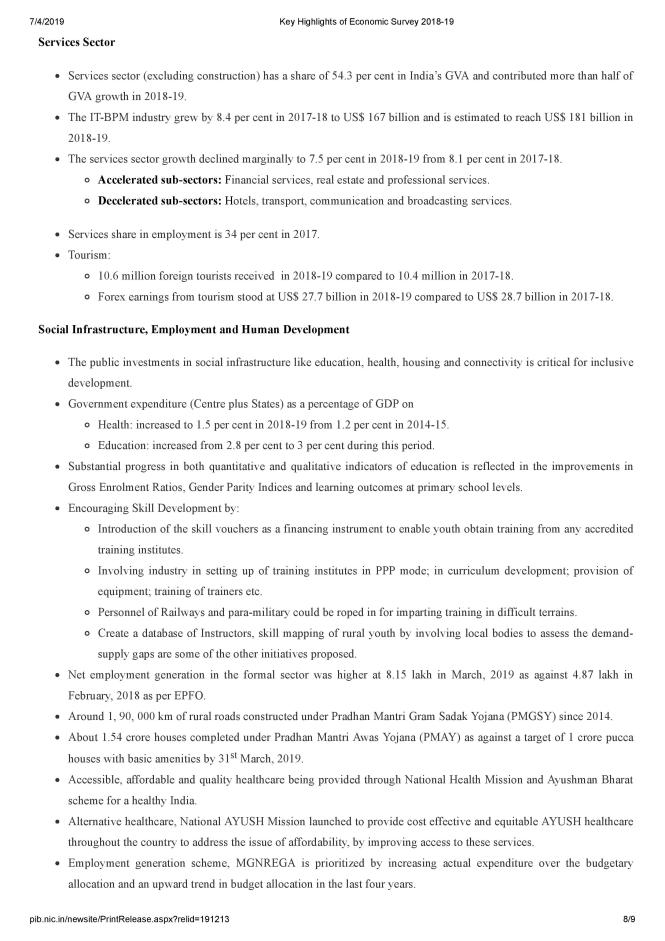 Key Highlights of Economic Survey 2018-19-page-008